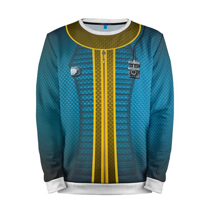 Buy Full Print Sweatshirt Vault 111 Jumpsuit Fallout Merch Merchandise collectibles