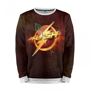 Buy Full Print Sweatshirt Flash Logo Green Arrow Union TV Merchandise collectibles
