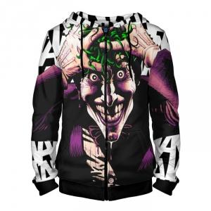 Merchandise Zipper Hoodie Joker Comic Books Ver