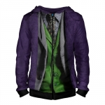 Merch Zipper Hoodie Joker Dc Universe Art