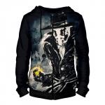 Merchandise - Zipper Hoodie Watchmen Rorschach