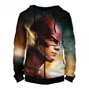Merch - Zipper Hoodie The Flash Tv Barry Allen