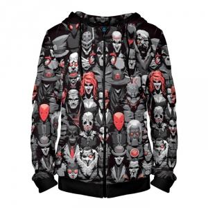 Merch - Zipper Hoodie Super Villains Dc Batman