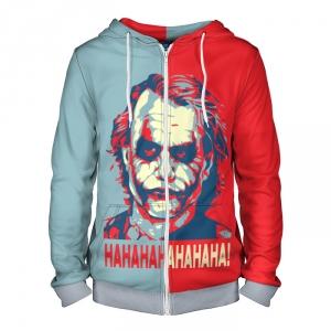 Collectibles Zipper Hoodie Joker Two Colors Dark Knight Version