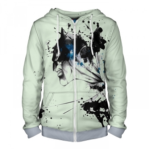 - People 4 Man Hoodie Jacket Front Grey 700 4