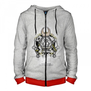 Collectibles Zipper Hoodie Enchantress Logo Suicide Squad