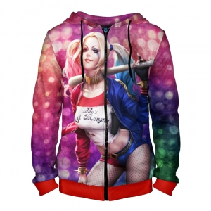 Collectibles Zipper Hoodie Harley Quinn Suicide Squad