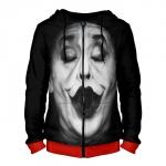 Collectibles Zipper Hoodie Jack Nicholson Joker