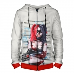 - People 4 Man Hoodie Jacket Front Red 700 9