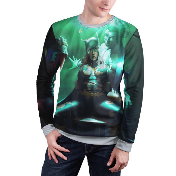 Merchandise Sweatshirt Joker Torturing Batgirl Batman