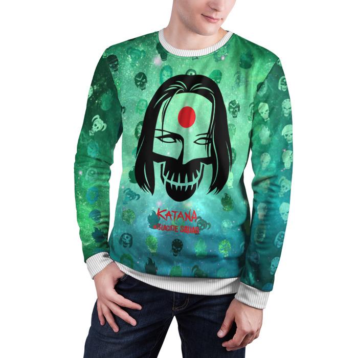 Collectibles Sweatshirt Suicide Squad Katana Wallpaper
