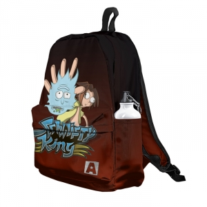 Buy Backpack Rick and Morty Schwifty King School Bag merchandise collectibles
