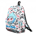 - People 5 Backpack Full Front White 700 101