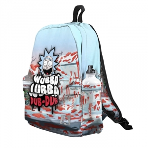- People 5 Backpack Full Front White 700 11