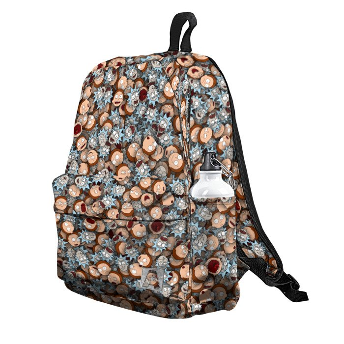 Buy Backpack Rick and Morty Stickerbombing School Bag merchandise collectibles