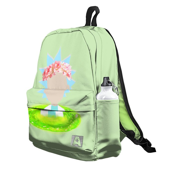 Buy Backpack Rick and Morty Cute Rick School Bag merchandise collectibles
