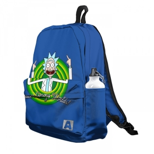 Buy Backpack Rick and Morty Peace Among Worlds! School Bag merchandise collectibles