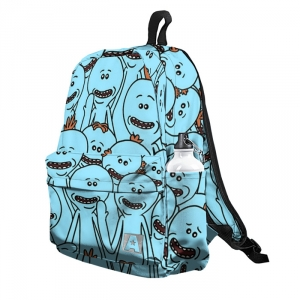 Buy Backpack Rick and Morty Mr. Meeseeks School Bag merchandise collectibles
