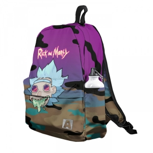 Buy Backpack Rick and Morty Military 2018 School Bag merchandise collectibles