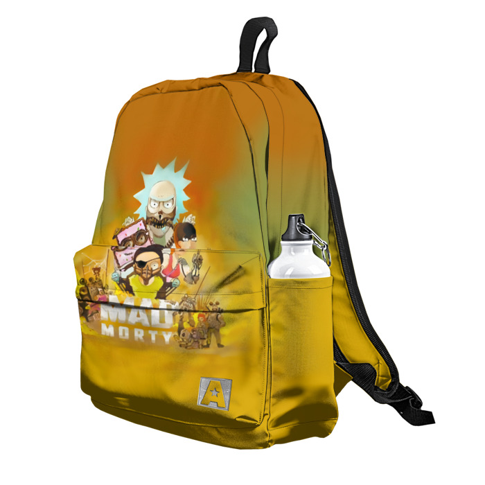 Buy Backpack Rick and Morty MaD Max Inspired School Bag merchandise collectibles