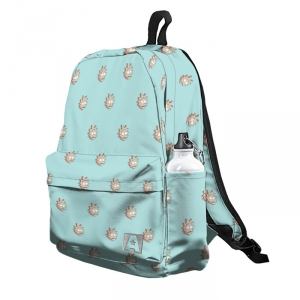 Collectibles - Backpack Rick And Morty Rick'S Heads Pattern Illustrated School Bag