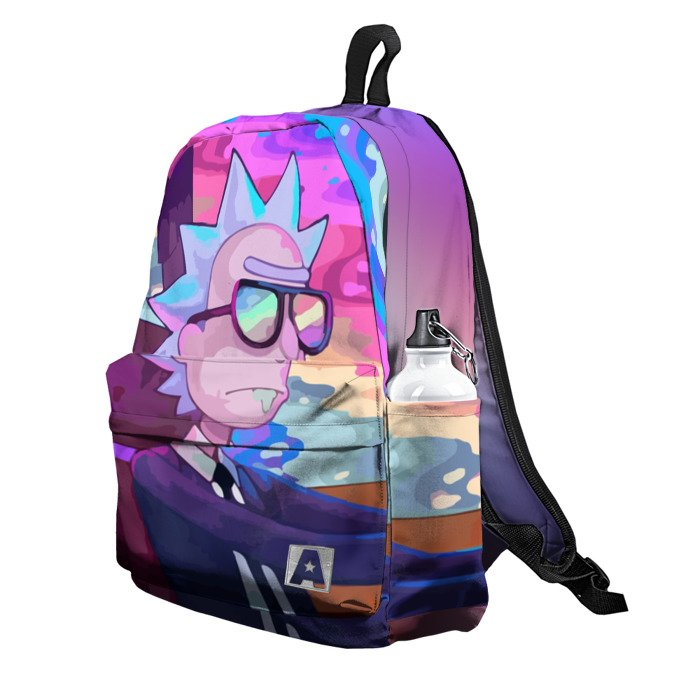 Buy Backpack Rick and Morty Car Drive Art School Bag merchandise collectibles
