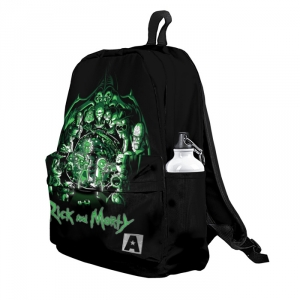 Buy Backpack Rick and Morty Portal 12 Art Adventures School Bag merchandise collectibles