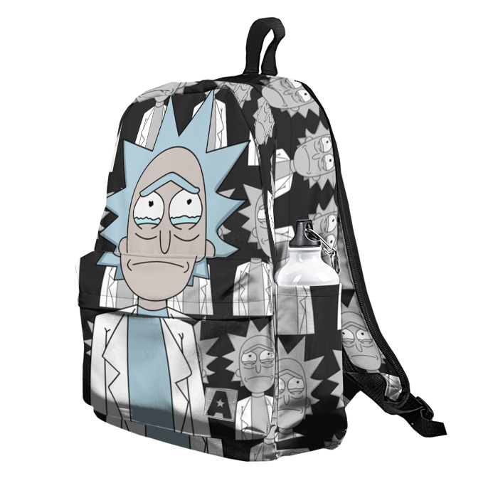 Buy Backpack Rick and Morty Sad Rick vol. 1 School Bag merchandise collectibles