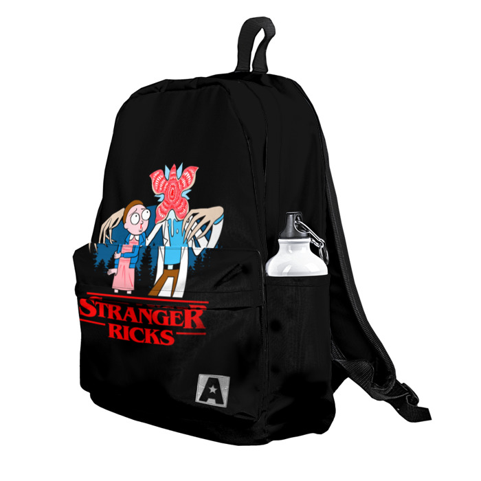 Buy Backpack Rick and Morty Stranger Things School Bag merchandise collectibles