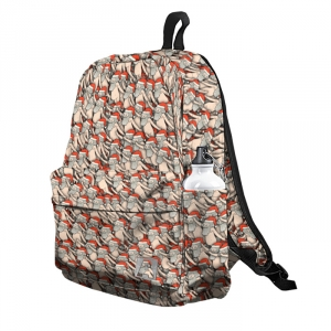 Buy Backpack Rick and Morty Naked Santa Christmas School Bag merchandise collectibles