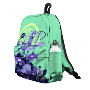 Buy Backpack Rick and Morty Inspired Arts School Bag merchandise collectibles