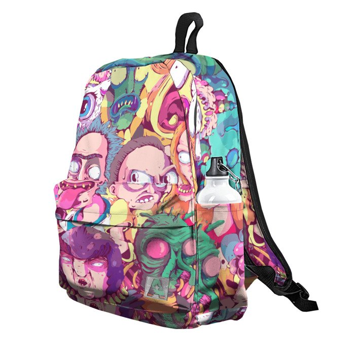 Buy Backpack Rick and Morty All characters School Bag merchandise collectibles