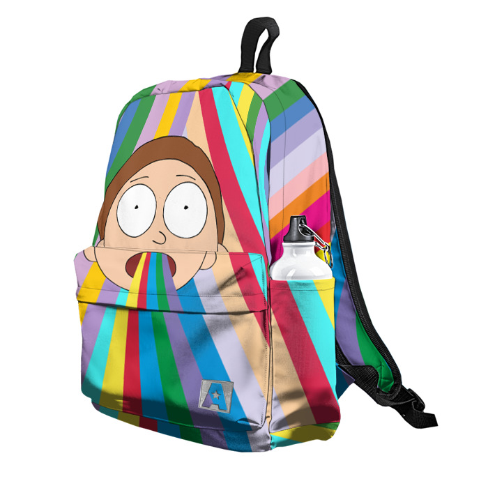 Buy Backpack Rick and Morty Morty's Colors School Bag merchandise collectibles