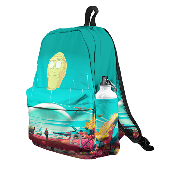 Buy Backpack Rick and Morty Rick Sun Lemon School Bag merchandise collectibles