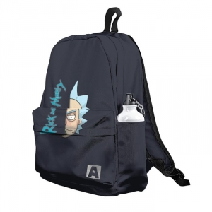 Buy Backpack Rick and Morty Half Head School Bag merchandise collectibles