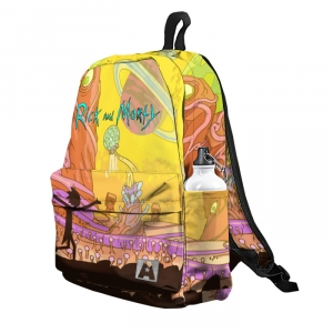 Buy Backpack Rick and Morty Universe Adventures School Bag merchandise collectibles