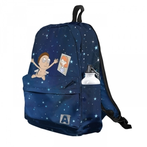 Buy Backpack Rick and Morty Morty Nirvana Inspired Art School Bag merchandise collectibles