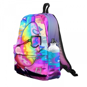 Buy Backpack Rick and Morty Rick's Toxic Colors School Bag merchandise collectibles