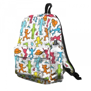 Buy Backpack Rick and Morty Pattern Wallpaper School Bag merchandise collectibles