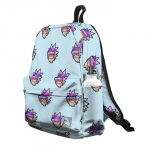 - People 5 Backpack Full Front White 700 9
