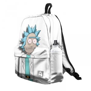 Buy Backpack Rick and Morty Tired Rick School Bag merchandise collectibles