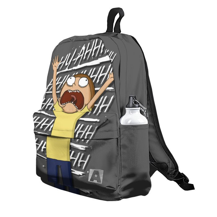 Buy Backpack Rick and Morty Cry Calendar School Bag merchandise collectibles