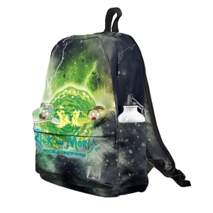 Buy Backpack Rick and Morty Rickstaverse School Bag merchandise collectibles