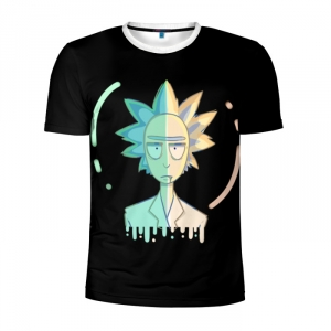 Buy Men's Compression t shirt Rick and Morty Character apparel Merchandise collectibles