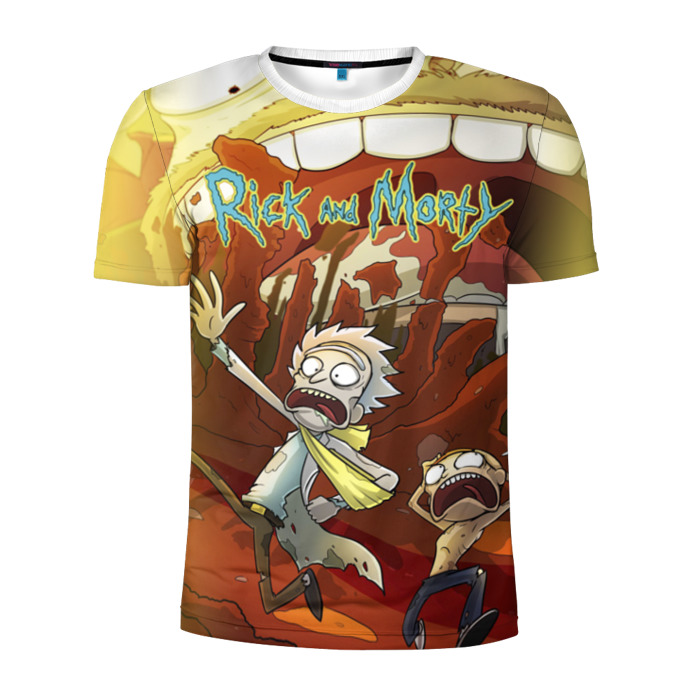Buy Men's Compression t shirt Rick and Morty Animation Merchandise collectibles