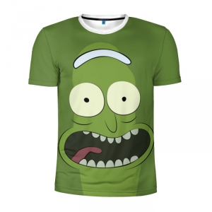 Buy Men's Compression t shirt Rick and Morty Pickle rick Merchandise collectibles