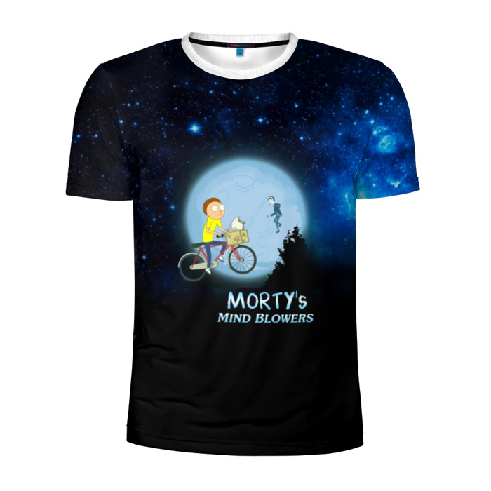 Buy Men's Compression t shirt Rick and Morty Mind Browlers Merchandise collectibles