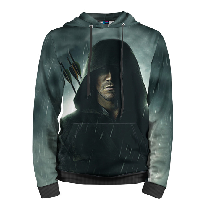 Buy Hoodie Green Arrow Oliver Queen Merchandise Guys Clothing Merchandise collectibles