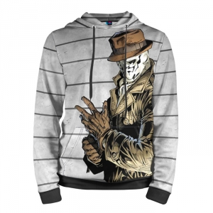 Buy Hoodie Rorschach Watchmen Apparel Clothing Merchandise collectibles