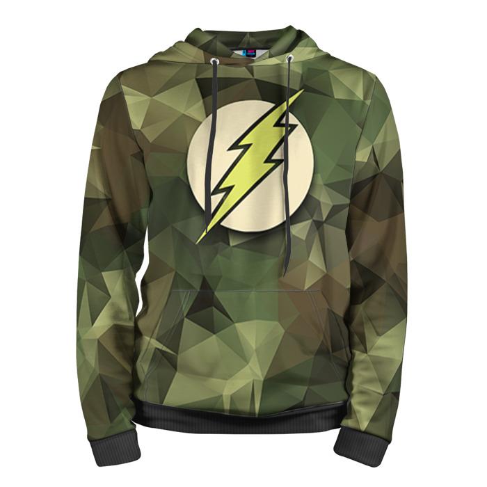 Buy Hoodie The Flash Merchandise Logo Military Art Merchandise collectibles